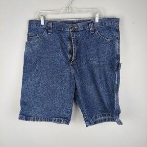 Men's Wrangler Jean Carpenter Shorts, size 38
